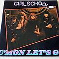 """Girlschool - Tape / Vinyl / CD / Recording etc - Girlschool C'mon Let's Go 10"""" Vinyl"""