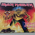 """Iron Maiden - The Number Of The Beast  Ltd Edt 7"""" Red Vinyl"""