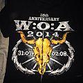 Wacken 2014 25th anniversary shirt