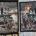 Iron Maiden - Patch - Iron Maiden - A Matter of Life and Death cover art patches (official 2011 and...