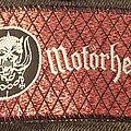 Motörhead - Patch - Vintage mini strip
