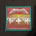 Metallica - Patch - Master of Puppets Green Border