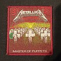 Metallica - Patch - Master of Puppets Brown Border