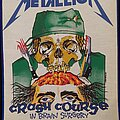 Metallica - Patch - Crash Course in Brain Surgery Backpatch