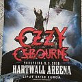 Ozzy Osbourne - Concert Tour Poster