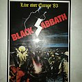 Black Sabbath - Live Evil Tour Poster
