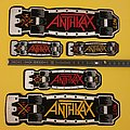 Anthrax Skateboard Collection  Patch