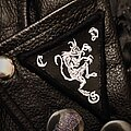Cultes Des Ghoules - Patch - Handmade faux leather Cultes des Ghoules patch