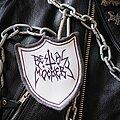 Bestial Mockery - Patch - Handmade Bestial Mockery shield patch