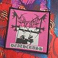Mayhem - Patch - Mayhem - Deathcrush (Pink cover)