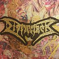 Dismember - Patch - Dismember - Gold logo