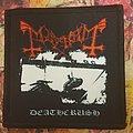 Mayhem - Patch - Mayhem - Deathcrush (black cover)