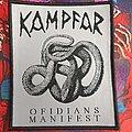 Kampfar - Patch - Kampfar -Ofidians Manifest