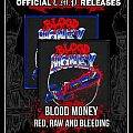 Official Blood Money - Red Raw and Bleeding patch