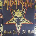 Midnight - Black Rock 'N' Roll back patch
