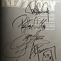 KISS Kisstory Book SIGNED by all