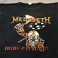 Megadeth tour shirt 1988
