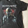 Megadeth Dystopia tour 2016 TShirt or Longsleeve