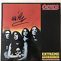 Kreator Extreme aggression LP SIGNED by all 1989