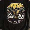 Anthrax Judge Dredd Among the living  sweatshirt 1987