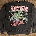Kreator Extreme aggression European tour 1989 sweatshirt