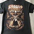 Exodus European tour shirt 2018
