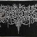 Be Persecuted - Patch - BE PERSECUTED logo patch (wanted)