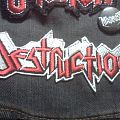 Patch - Destruction embroidered logo patch