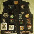 Death/Thrash/Black Metal vest almost complete Battle Jacket
