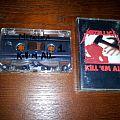"""Metallica """"Kill 'Em All"""" Cassette Tape / Vinyl / CD / Recording etc"""