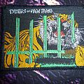 "Tygers of Pan Tang ""The Cage"" woven patch"