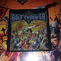 """Bolt Thrower """"Warmaster"""" woven patch"""