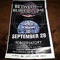 BTBAM/The Faceless show poster - Signed