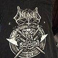 Unleashed - Hammer Battalion US  tour shirt.