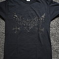 Mayhem  - Black Logo t-shirt