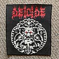 Vintage Hells Headbangers Deicide Backpatch