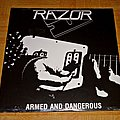 Razor - Tape / Vinyl / CD / Recording etc - Razor - Armed and Dangerous LP