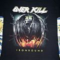 TShirt or Longsleeve - OverKill - South American Tour 2010