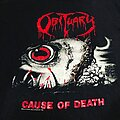 Obituary - TShirt or Longsleeve - Obituary 1990 Cause of Death North American Tour shirt