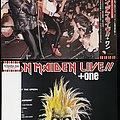 "(2×) Iron Maiden Live +1/ 12"" ep / inc. misprint/ (Japanese Pressing)"