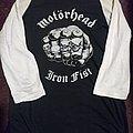 Motorhead/ Iron Fist/ 1982 Tour/ t-shirt