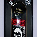 The Exploited - Other Collectable - Exploited skateboard deck