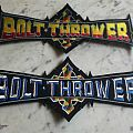 Bolt Thrower back shape Patch