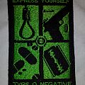 Type O Negative - Express Yourself patch