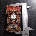 Atheist - Pin / Badge - Atheist - Piece of Time enamel metal pin