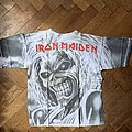 Iron Maiden  all over printed shirt