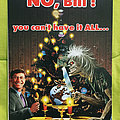 Iron Maiden Christmas card - year 2K Other Collectable