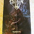 """Asphyx - Other Collectable - """"Deathhammer"""" Poster"""