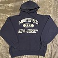 Mouthpiece New Jersey Straight Edge Navy Hoodie