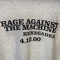 Rage Against The Machine - TShirt or Longsleeve - Rage Against The Machine Renegades Promo shirt